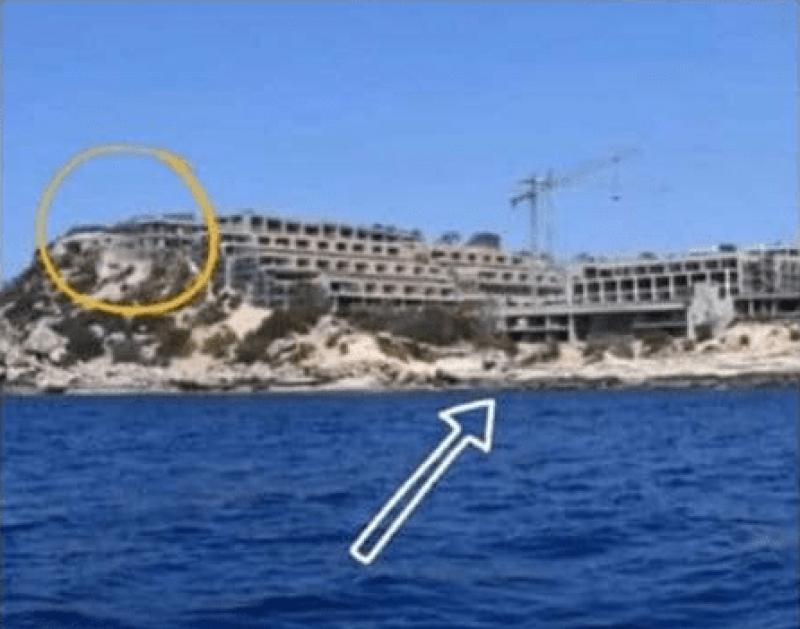 Los ecologistas señalan las ampliaciones del hotel Xarraca Bay.